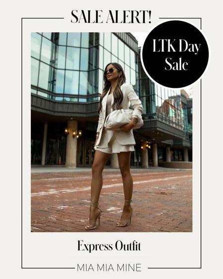 LTK Day sale picks from Express Express linen set   #LTKsalealert #LTKDay #LTKunder100