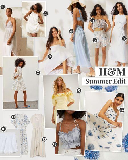 A blue and white summer highstreet affordable edit http://liketk.it/3i53G #liketkit @liketoknow.it #LTKunder50 #LTKunder100 #LTKstyletip
