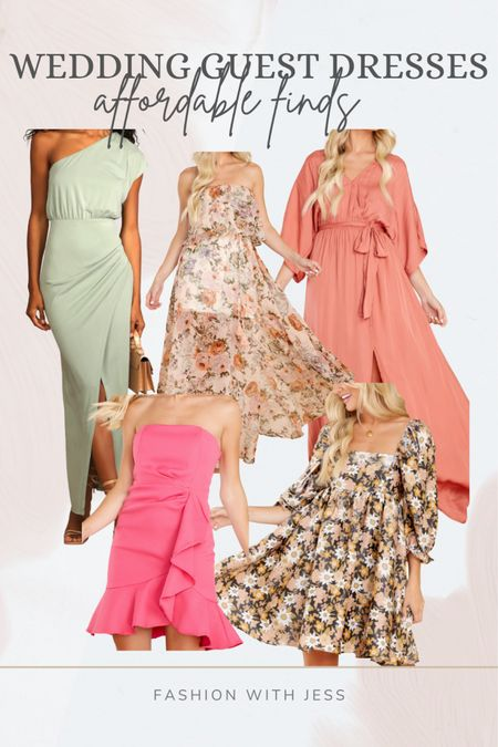 Affordable wedding guest dresses Shop your screenshot of this pic with the LIKEtoKNOW.it shopping app http://liketk.it/3kFWc @liketoknow.it #liketkit #LTKstyletip #LTKunder100 #LTKwedding
