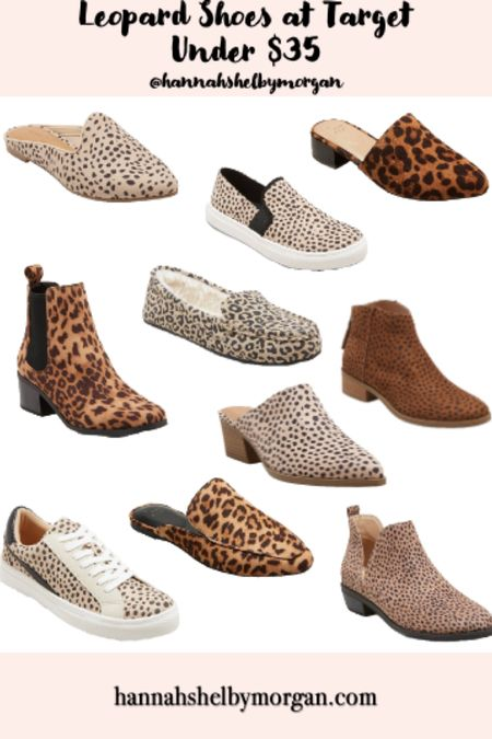 My favorite leopard shoes at Target are all under $35 and so perfect for fall 🐆😍 http://liketk.it/2Wa5F @liketoknow.it #liketkit #LTKworkwear #LTKunder50 #LTKstyletip