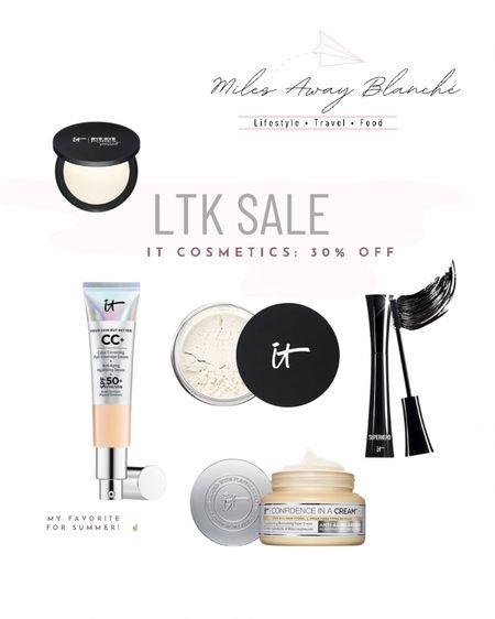some of the best makeup including my favorite summer light weight foundation is 30% off! http://liketk.it/3huWU #liketkit @liketoknow.it #LTKbeauty #LTKsalealert #LTKunder50