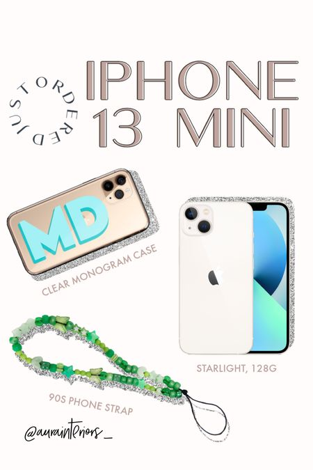 Can't wait for my iPhone 13 mini to come in! Ordered it in Starlight with a modern initial case + 90s phone strap 🤩 Pro tip: order this iPhone 13 mini screen protector from bestbuy.com + select store pickup… they will install it for you + it's free replacements/installations forever!!   #iphone13 #iphone13mini iPhone 13 mini case, iPhone 13 case, iPhone mini case, iPhone monogram case, iPhone initial case, clear iPhone 13 mini case, monogrammed iPhone 13 case, monogram iPhone 13 case, initial iPhone 13 case, iPhone 13 mini starlight, iPhone 13 starlight, 90s phone strap, 90s phone loop, beaded phone strap, beaded phone loop, iPhone strap, iPhone loop, loopy case, iPhone bracelet, iPhone charm, phone charm, beaded phone charm, beaded iPhone charm, nineties phone strap, nineties phone loop, Kendall Jenner phone strap, Kendall Jenner phone loop, hands free iPhone, iPhone keychain, iPhone holder, phone loop, phone bracelet, iphone aesthetic, blue green iphone, blue monogram case, turquoise monogram case, green phone strap, green phone loop, green iPhone strap, green iphone loop, beaded iPhone loop, beaded iphone strap, custom phone case, custom phone loop, custom phone strap, green beaded iPhone, teal monogram case, blue initial case, mint initial case, turquoise initial case, mint monogram case, teal initial case, mint clear iPhone 13 case, clear iPhone 13 case, clear iPhone 13 monogram case, clear iPhone 13 initial case, iPhone mini essentials, iPhone mini must haves, iPhone 13 mini accessories       #LTKunder50