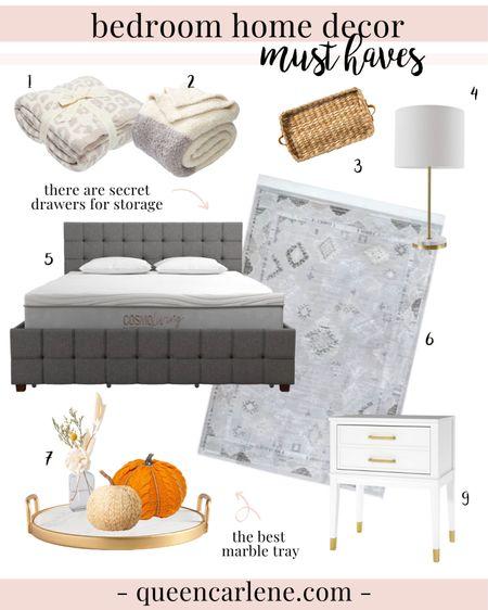 Cozy neutral bedroom decor #liketkit http://liketk.it/2WFpq @liketoknow.it #StayHomeWithLTK #LTKhome #LTKunder100 #carleneathome #homedecor #bedroom