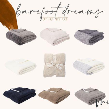 Barefoot Dreams throw blankets. Up to 41% off #barefootdreams #homedecor #nordstromrack   #LTKunder100 #LTKhome #LTKsalealert