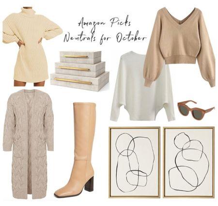 Amazon dress, sweater dress, Amazon fashion, Amazon finds, home decor  #LTKunder50 #LTKunder100 #LTKhome
