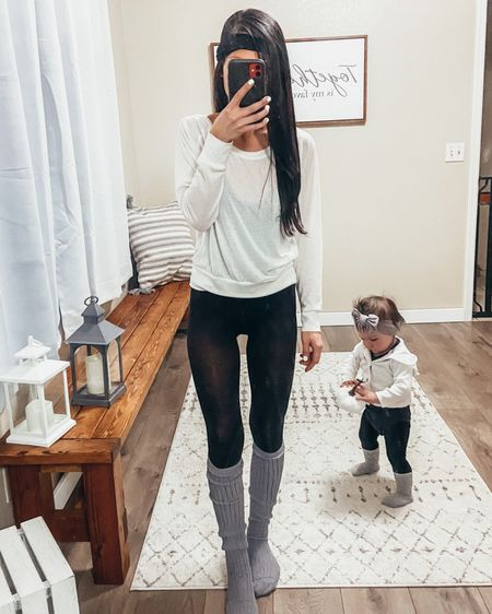 Mother daughter outfit mother daughter matching leggings over the knee high socks cable knit stockings cable knit leggings cable knit socks neutrals outfit winter style winter outfit baby girl outfit baby girl style baby girl leggings baby girl sweater baby girl headband toddler girl outfit toddler girl style toddler girl cardigan mommy and me mom and baby  Loungewear casual outfit lazy day simple style minimal chic minimalist style minimalist fashion minimalist outfit boho style petite style petite outfit workout outfits yoga leggings yoga tops yoga style comfy casual cozy   @liketoknow.it #liketkit http://liketk.it/2KwGf #LTKspring #LTKfit #LTKbaby @liketoknow.it.family @liketoknow.it.home