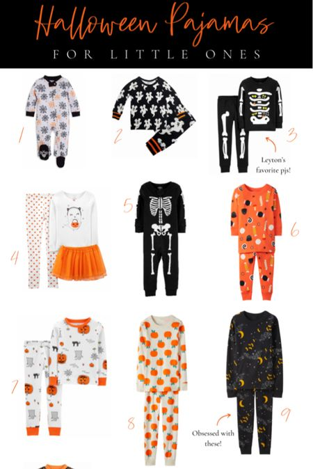 Halloween pajamas for kids 🧡 The best Halloween pjs for both boys and girls that are comfy and the perfect level of fun+spooky.   #LTKunder100 #LTKkids #LTKHoliday