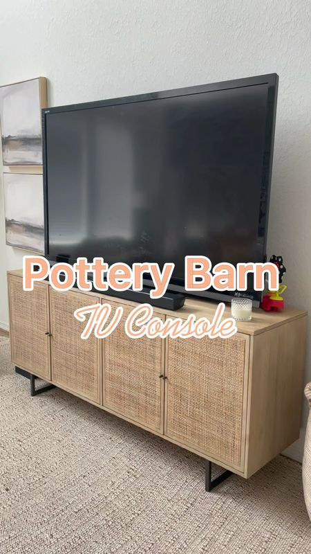 Pottery Barn TV Console 80inch   #LTKhome