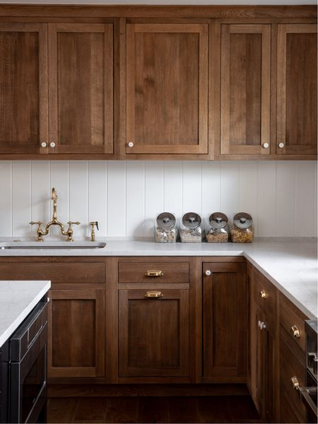 """The """"Revived Colonial Revival"""" kitchen from our show... I looooved these oiled white oak cabinets!! http://liketk.it/2BNIT #liketkit @liketoknow.it"""