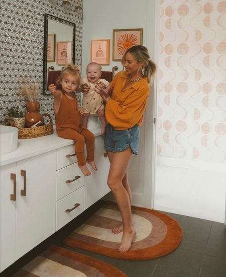 Kids bathroom decor details 🌼✨  #LTKhome #LTKfamily #LTKbaby