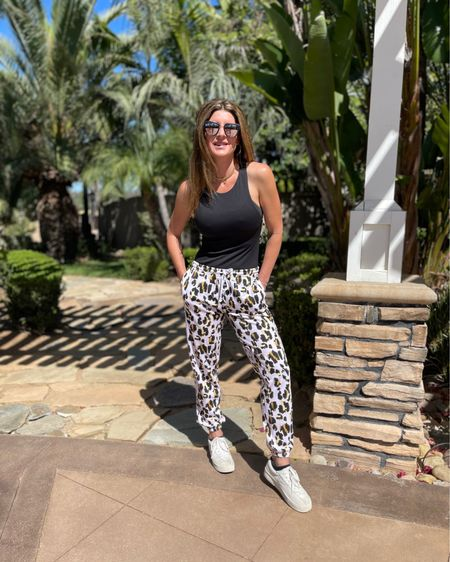 Loving these aqua athletic leopard sweats! Try them if you're having a hard time figuring out how to get dressed again after sweats for so long! @liketoknow.it #liketkit http://liketk.it/3hgTO  #sweats #fashionsweats #workfashion