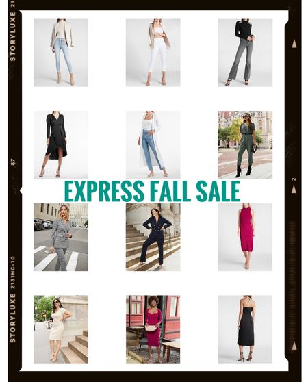 Fall outfits from Express currently on sale 9/19/21 - 9/21/21! Happy shopping!   #LTKDAY    #LTKSale #LTKunder100 #LTKwedding