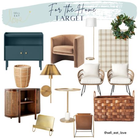 Target Home!   Target has the cutest home decor! These are definitely on my list!  #target #homedecor #home  #LTKhome