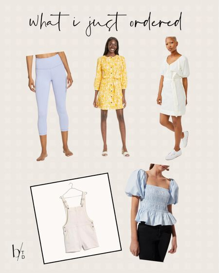 Brighton Butler's most recent purchases include a dress from target, Zella leggings, a white dress from Walmart, madewell short overalls, and a puff sleeve top from Nordstrom.   http://liketk.it/3hRdg #liketkit @liketoknow.it