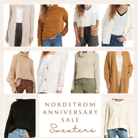 Nordstrom Anniversary Sale Sweaters! Cardigans, fall outfit, free people sweater, chunky sweaters #liketkit #LTKsalealert #LTKstyletip #LTKunder100 @liketoknow.it http://liketk.it/3jRiX