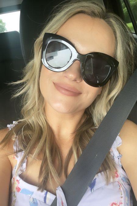Today's sunglasses are an amazon find.   #LTKunder50 #LTKswim #LTKtravel