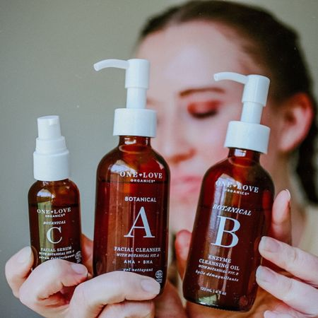 Double-Cleansing Benefits: https://www.nomadicniche.com/post/the-benefits-of-double-cleansing. Botanical B Enzyme Cleansing Oil, Botanical A Facial Cleanser, Vitamin C Serum. Clean Beauty, Non-Toxic Skincare.  #oneloveorganics #cleanser #facialoils #botanicalbcleanser #vitamincserum http://liketk.it/2PGqF #liketkit @liketoknow.it