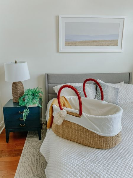 Nightstand, target, home decor, Moses basket   #LTKfamily #LTKhome #LTKstyletip
