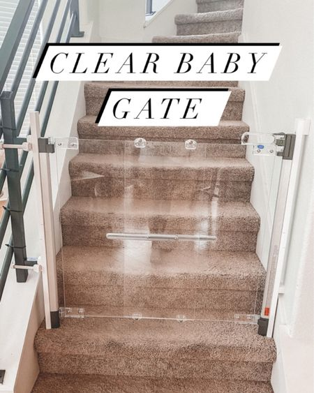 FINALLY a baby gate that's not an eye sore!! This baby gate won't mess up your home decor because it's barely noticeable. MUST. HAVE. @liketoknow.it http://liketk.it/36vud #liketkit #LTKbaby #LTKhome #LTKkids