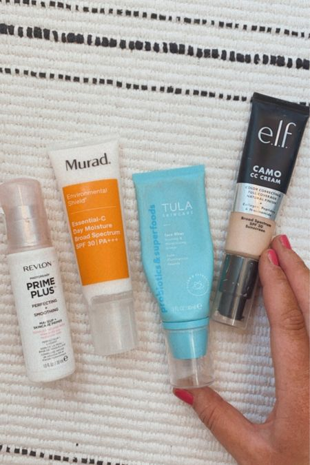 My favorite four summer products for sweat and sun. Two of these include SPF plus a primer. http://liketk.it/3hYlL #liketkit @liketoknow.it #LTKunder50 #LTKbeauty #LTKstyletip You can instantly shop my looks by following me on the LIKEtoKNOW.it shopping app