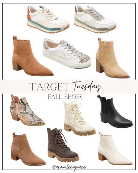 Target Tuesday - Fall Shoes and Fall Booties   #LTKshoecrush #LTKSeasonal