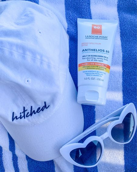 Beach essentials ✨🕶☀️  Never would've thought that choosing the right type of sunscreen would be such a big deal, lately I've been doing my research on the type of products I've been using & learning more about their benefits, while also learning that not all of the products that I normally use are actually beneficial. I would normally just buy whatever sunscreen I found with the highest SPF & call it a day. I guess that was the ignorant side of me, but it's always good when I learn & take action. So here's to learning new things each day & changing them for a better & healthier way of living!😉 http://liketk.it/3atqC #liketkit @liketoknow.it #LTKstyletip #LTKunder50 #LTKbeauty