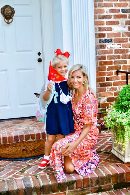 First day of first grade and Mommy has a new back to school dress too!   #LTKfamily #LTKstyletip #LTKbacktoschool
