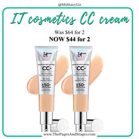 http://liketk.it/39Az5 #liketkit @liketoknow.it #LTKsalealert #itcosmetics #makeup #cccream