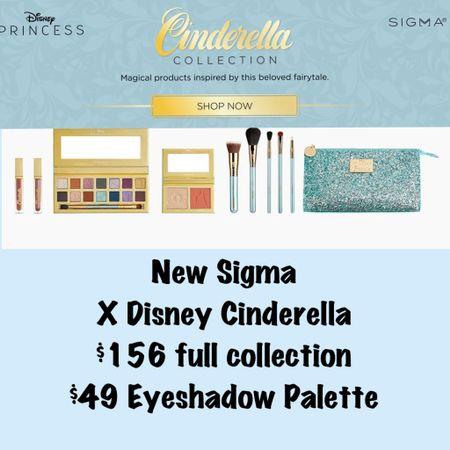 New Sigma Beauty X Disney Cinderella Collection available NOW! 💙  #LTKHoliday #LTKbeauty #LTKsalealert