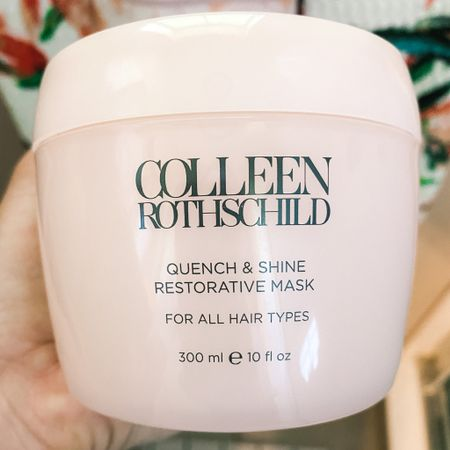 My Colleen Rothschild hair favs linked here! This hair mask and hair serum are MAGIC! 25% off sitewide today only! http://liketk.it/2SH5k #liketkit @liketoknow.it #LTKDay #StayHomeWithLTK #LTKbeauty Shop your screenshot of this pic with the LIKEtoKNOW.it shopping app