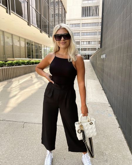 Exact bodysuit is H&M and isn't on the site but I linked two very similar options. Small in pants and I am little over 5' http://liketk.it/3iCJ9 #liketkit @liketoknow.it   http://liketk.it/3iCKY