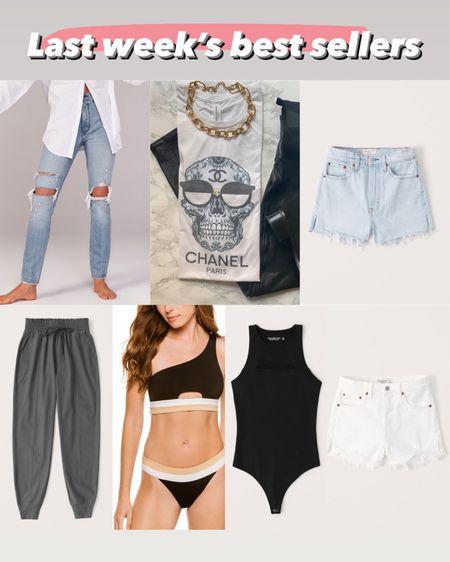 Best sellers one shoulder swimsuit joggers in xxs short ripped jeans in 24 denm shorts in 24 http://liketk.it/3hTj6 #liketkit @liketoknow.it #LTKsalealert #LTKunder50 #LTKunder100