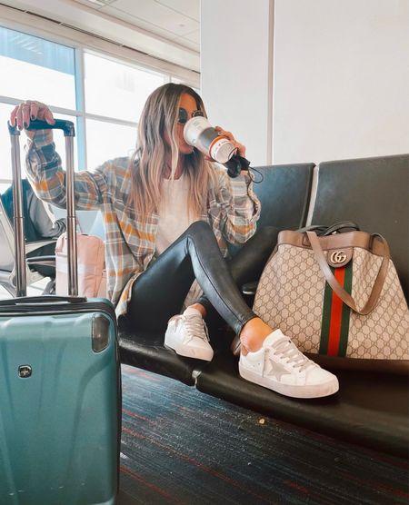 Travel outfit.✈️  #LTKstyletip #LTKtravel