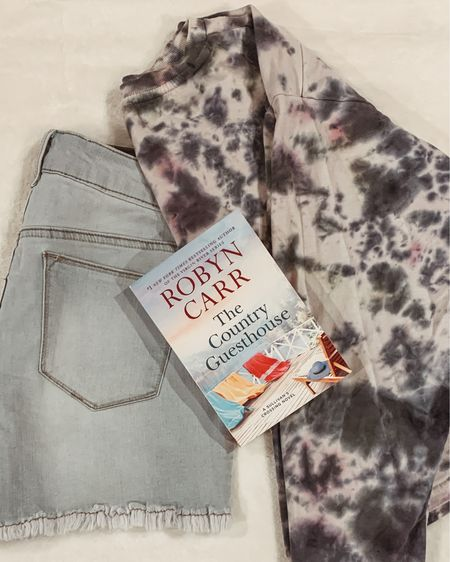 Evenings at the beach- shorts and a tie-dye sweatshirt, reading a romantic book 💕 My perfect type of night!!! Hurry up summer!! 😊 http://liketk.it/3eaAl #liketkit @liketoknow.it #LTKunder50 #LTKstyletip #LTKtravel