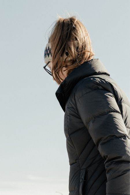 The cosiest puffer jacket for late winter and early spring days     #LTKunder100 #LTKSeasonal #LTKfit