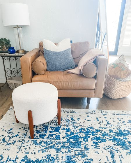 Love this Sherpa ottoman from Target!!!   #LTKunder100 #LTKfamily #LTKhome