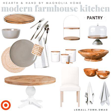 Farmhouse Kitchen Finds by Hearth & Hand with Magnolia!! . . . . . .   #LTKfamily #LTKsalealert #LTKhome