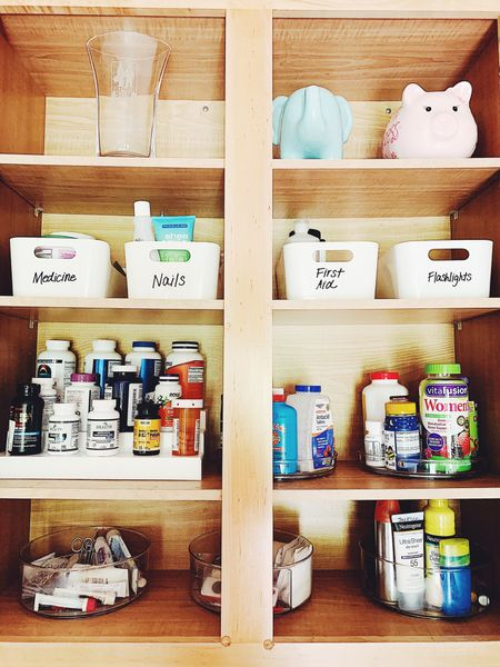 Medicine cabinet organization   #LTKSeasonal #LTKhome #LTKunder50