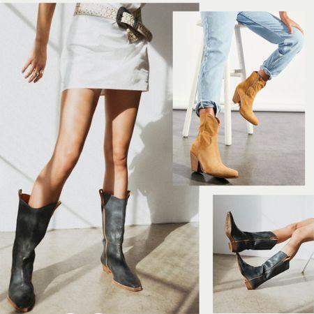Cowboy boots continue for fall. Yeehaw!   #trending #trendalert #falltrend #streetstyle #fallboots #fallfashion #fashion #style #cowboyboots #autumn   #LTKstyletip #LTKSeasonal #LTKshoecrush