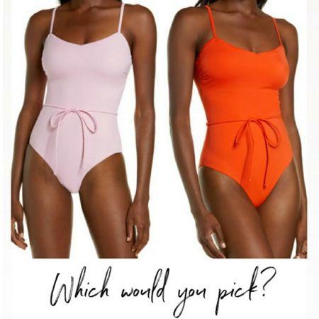 Retro Swimsuit, One Piece Swimsuit, Swim, Summer Swim     http://liketk.it/3i0Bt @liketoknow.it #liketkit  #LTKunder100 #LTKswim