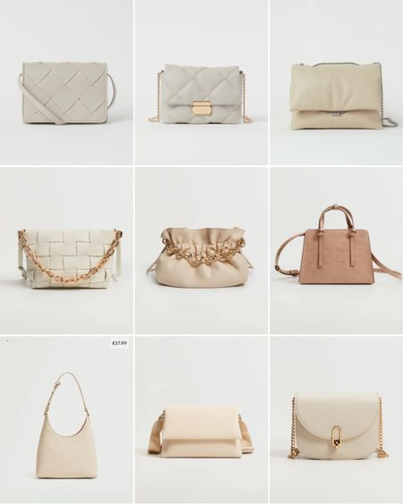 Cream/White high street bags 🤍 http://liketk.it/3ioEY #liketkit @liketoknow.it #LTKstyletip #LTKworkwear #LTKeurope @liketoknow.it.europe @liketoknow.it.home Shop your screenshot of this pic with the LIKEtoKNOW.it shopping app