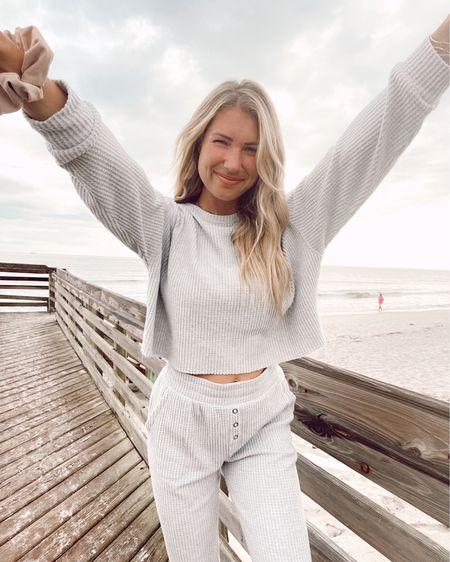 Coziest grey jump suit two piece http://liketk.it/2YTAE #liketkit @liketoknow.it