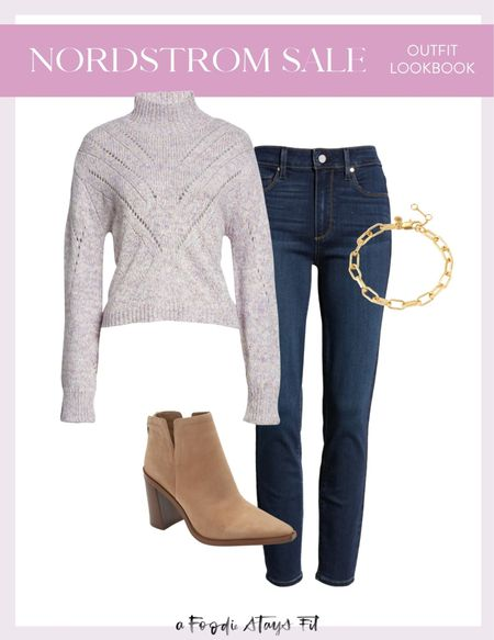 I love a classic sweater and jeans look! All of this is from the NSALE!  #LTKSeasonal #LTKstyletip #LTKsalealert