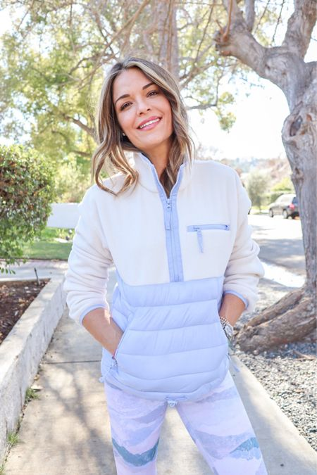 LA, we've been fooled! The cooler temps are back this week, and I had to share my favorite morning walk outfit with you because it's on super sale right now! The puffer jacket and leggings are more than half off!  Shop with the link in my bio if you're already cold like me 😂 http://liketk.it/3cV45 #liketkit @liketoknow.it