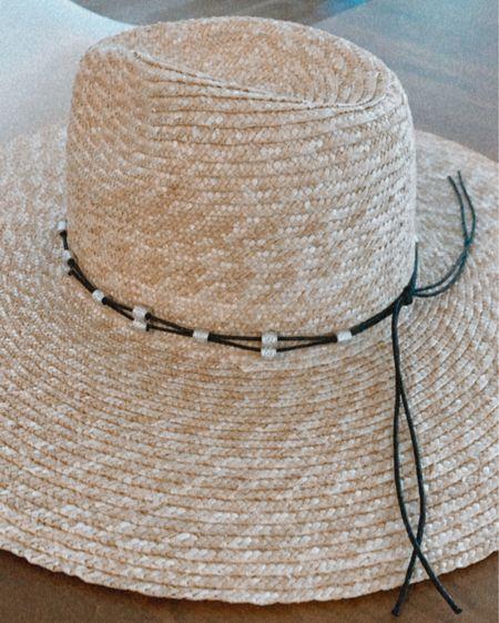 Straw hat, wide brim, hat for summer, under $25 http://liketk.it/3hP5I #liketkit @liketoknow.it #LTKsalealert #LTKunder50