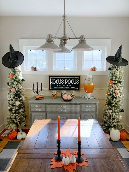 Halloween decor trend tip: paint your pumpkins to match the current color trend!    #LTKSeasonal #LTKstyletip #LTKhome