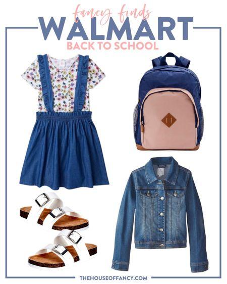 Back to school look from Walmart!   #LTKkids #LTKstyletip #LTKunder50