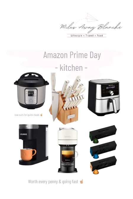 Amazon prime day deals kitchen! Nespresso machine is worth every penny! Love our instant pot for quick meals as well! Selling out quickly! http://liketk.it/3i53J #liketkit @liketoknow.it #LTKsalealert #LTKhome #LTKfamily