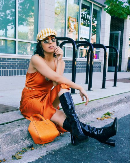 Orange you glad it's fall? 🧡 #liketkit @liketoknow.it Follow me on the LIKEtoKNOW.it shopping app to get the product details for this look and others http://liketk.it/2Fw0v
