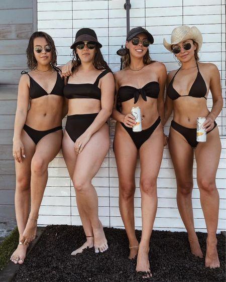 black suits and sunnies linked #swim http://liketk.it/3h5aq #liketkit @liketoknow.it #LTKunder100 #LTKswim